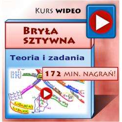BRYŁA SZTYWNA dla Studentów - kurs multimedialny