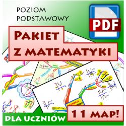 Matematyka poziom podstawowy - Pakiet powtórkowy do matury
